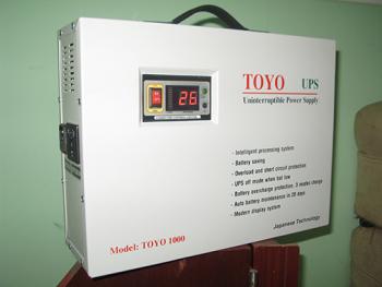 Bình lưu điện cửa cuốn TOYO 1000