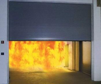 Cửa cuốn chống cháy AF100