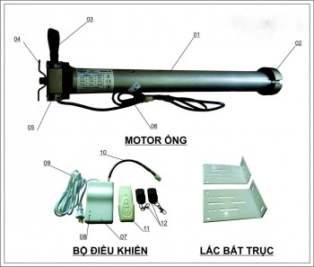 Motor ống 120N